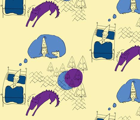 Go-Radiate_Dream-of-Princess fabric by melissa_doran on Spoonflower - custom fabric