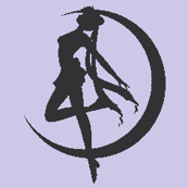 Sailor Moon Silhouette -purple-