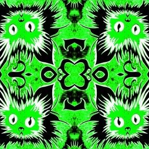 Lime Green Puddytat