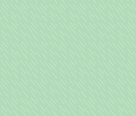 Rain in Mint fabric by lilhipstar on Spoonflower - custom fabric