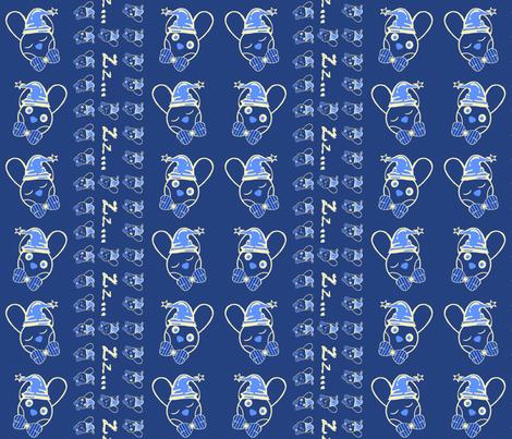 11_Beddie-Bye-BoBo__lightblue_ fabric by phosfene on Spoonflower - custom fabric