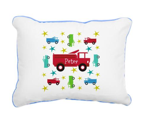 Fire Truck star- Personalized