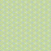Sketched Geometric Hexagon Pattern