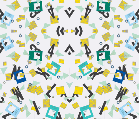 Traffic - Leah fabric by lstilphen on Spoonflower - custom fabric