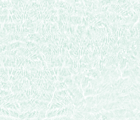 ripples in white and pale aqua
