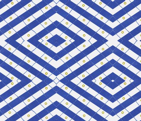 Nautical criss cross fabric by jorren on Spoonflower - custom fabric
