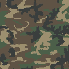 Digital M81 Woodland Camo