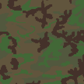Digital Woodland Tropical Camo