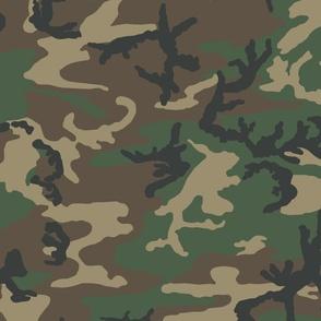 M81 Woodland Camo