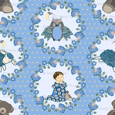 Bedtime Prayers (boy blue)