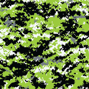 Zombie Green Digital Camo
