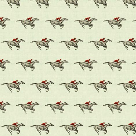 grey racers on linen