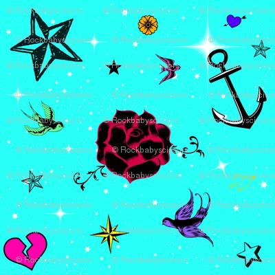 Tattoo Pics Aqua