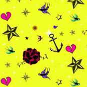 Tattoo Pics Yellow