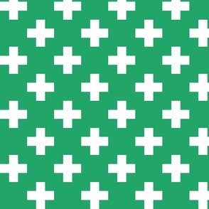kelly green cross