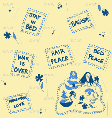 Hair Peace Bed Peace