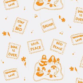 Hair Peace Bed Peace (orange)