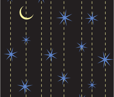 Bedtime fabric by meagangetz on Spoonflower - custom fabric