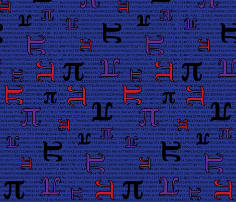 Digits of Pi (Blue)