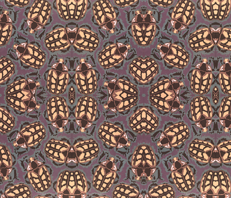 Cool Beetles fabric by monster_alice on Spoonflower - custom fabric