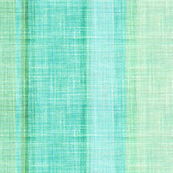 Beach stripe in faux linen aqua