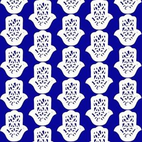 hamsa blue