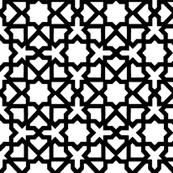 Marrakesch white-black XL