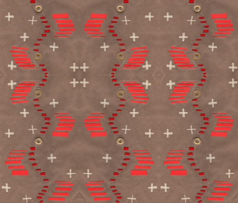 Paper Cut Campfire fabric by trizzuto on Spoonflower - custom fabric