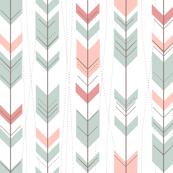 Tribal Arrows Aztec Ikat Pastels