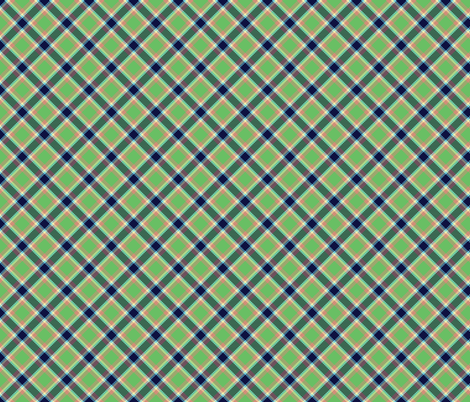 peacock_tartan_3 fabric by spontaneouscombustion on Spoonflower - custom fabric