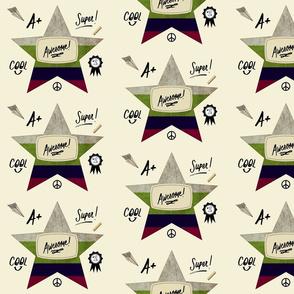 Star notes Blue-Awsome