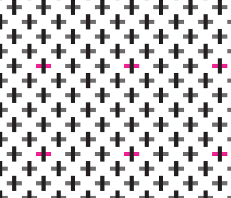 Swiss Cross fabric by jackieatweelife on Spoonflower - custom fabric