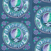 Grateful dead Blue and Roses