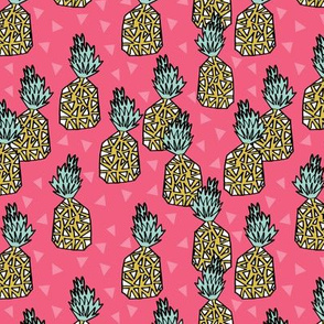 Pineapple - Pink (Small Version)