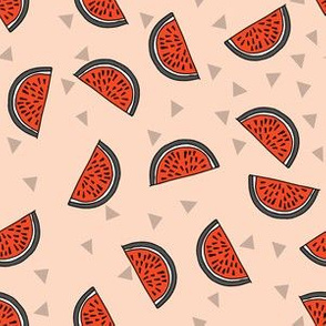 Watermelon - Blush (Smaller version) by Andrea Lauren