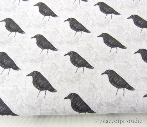Gray Damask Map Bird