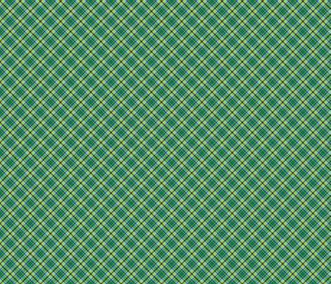 peacock_tartan__4_ fabric by spontaneouscombustion on Spoonflower - custom fabric