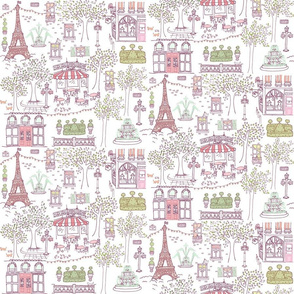 Parisian Stroll in Antoinette