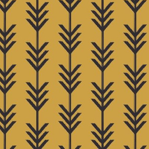 Yellow & Black Chevron Arrows