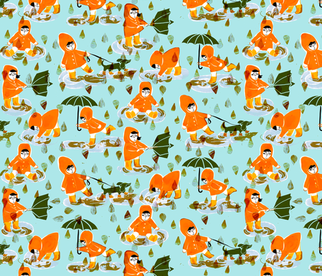 Stövlar fabric by lillen on Spoonflower - custom fabric