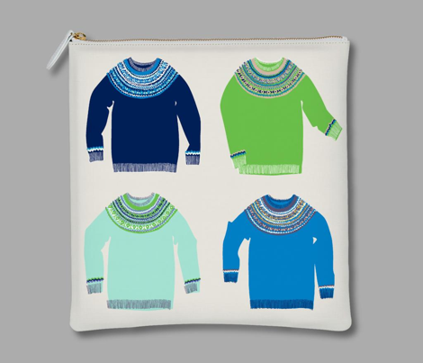 Woolly Jumpers (cool palette)