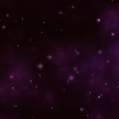 Violet Space Nebula