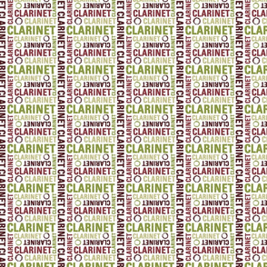 Clarinet Text