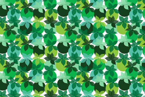 Limes in Spring fabric by colorthetree on Spoonflower - custom fabric