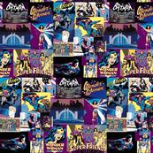Super Friends 1970's-purple and yellow-ed