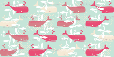 Whale Watching (pink)