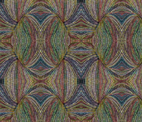 Variegated Yarn fabric by mammajamma on Spoonflower - custom fabric