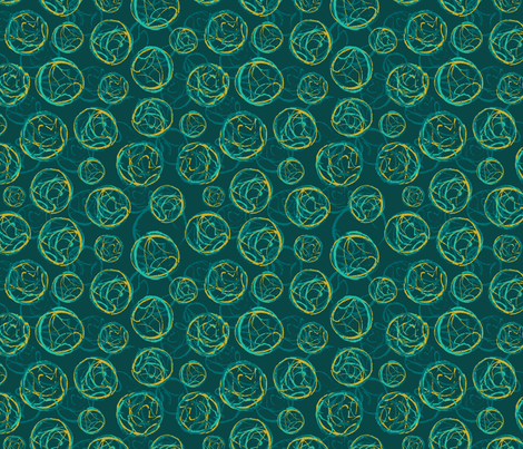 Stamped Geodes fabric by vinpauld on Spoonflower - custom fabric