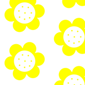 Mod Flower Power Yellow