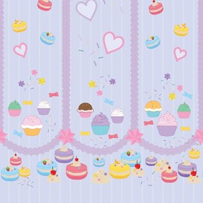 Cupcake and Macaroon Icing dream